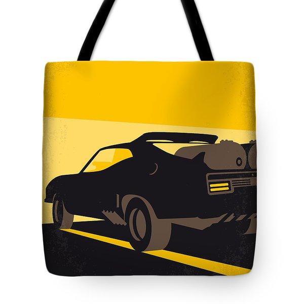 No051 My Mad Max 2 Road Warrior Minimal Movie Poster Tote Bag