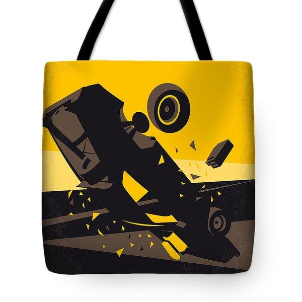 No051 My Mad Max 4 Fury Road Minimal Movie Poster Tote Bag