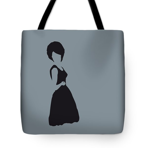 No057 My Diana Ross Minimal Music Poster Tote Bag