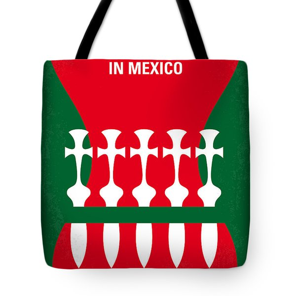 No058 My Once Upon A Time In Mexico Minimal Movie Poster Tote Bag