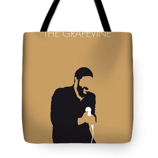 No060 My Marvin Gaye Minimal Music Poster Tote Bag