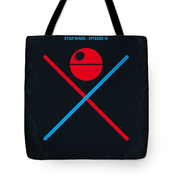 No080 My Star Wars Iv Movie Poster Tote Bag
