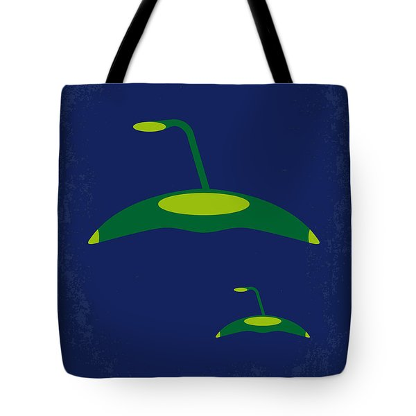 No118 My War Of The Worlds Minimal Movie Poster Tote Bag by Chungkong Art