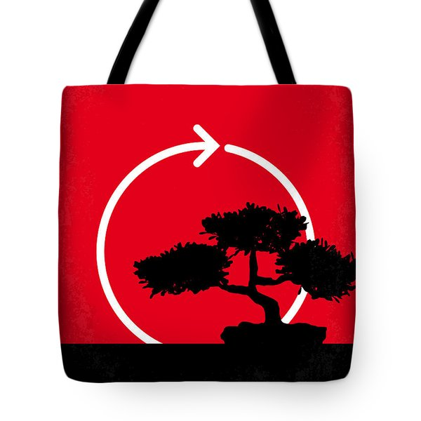 No125 My Karate Kid Minimal Movie Poster Tote Bag