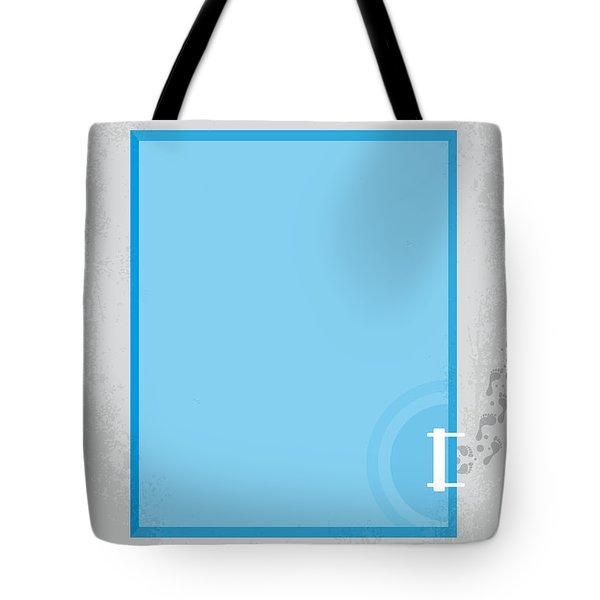 No137 My La Piscine Minimal Movie Poster Tote Bag