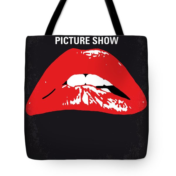 No153 My The Rocky Horror Picture Show Minimal Movie Poster Tote Bag