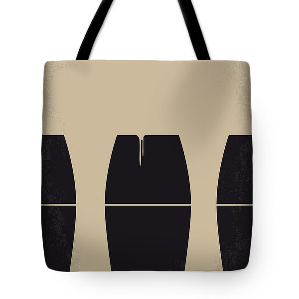 No157 My Prometheus Minimal Movie Poster Tote Bag