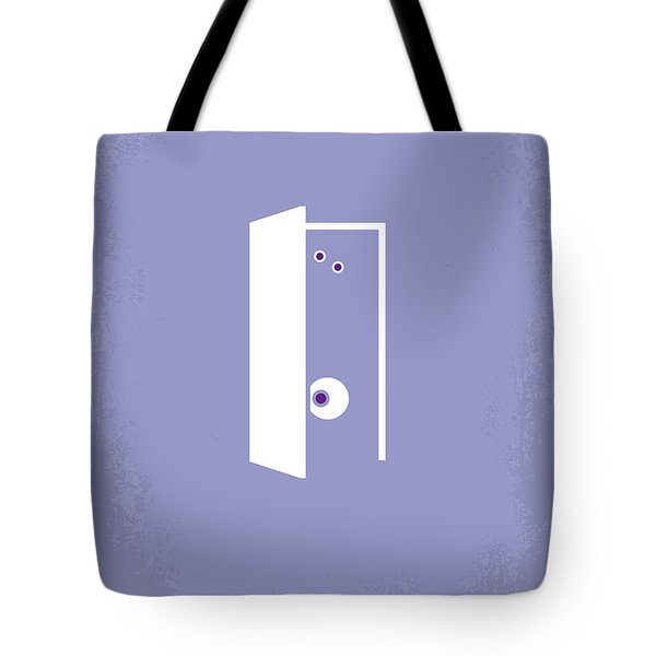No161 My Monster Inc Minimal Movie Poster Tote Bag