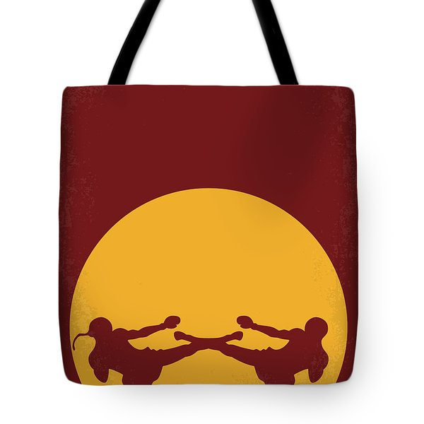 No178 My Kickboxer Minimal Movie Poster Tote Bag by Chungkong Art