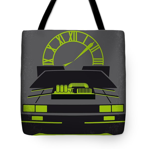 No183 My Back To The Future Minimal Movie Poster-part IIi Tote Bag