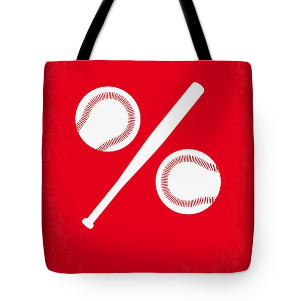 No191 My Moneyball Minimal Movie Poster Tote Bag