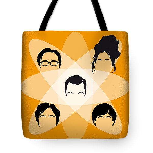 No196 My The Big Bang Theory Minimal Poster Tote Bag