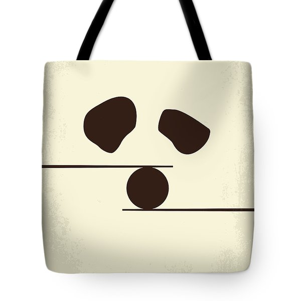 No227 My Kung Fu Panda Minimal Movie Poster Tote Bag