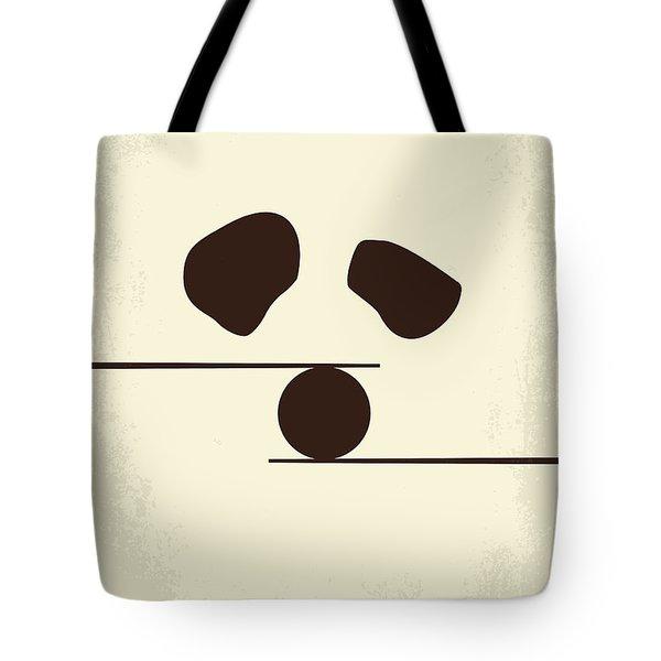 No227 My Kung Fu Panda Minimal Movie Poster Tote Bag by Chungkong Art