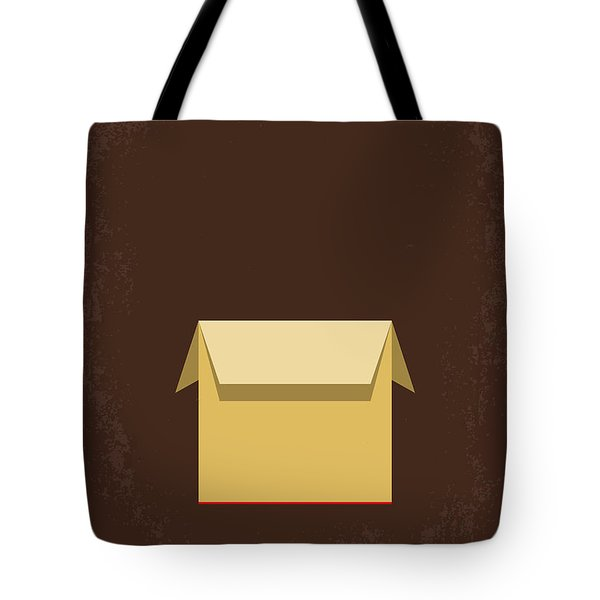 No233 My Seven Minimal Movie Poster Tote Bag