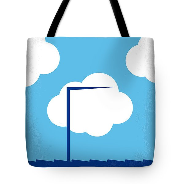 No234 My Truman Show Minimal Movie Poster Tote Bag by Chungkong Art