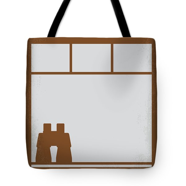 No238 My Rear Window Minimal Movie Poster Tote Bag