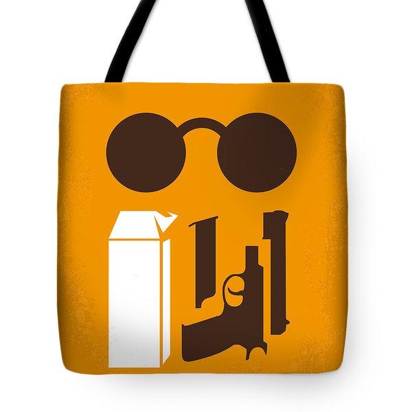 No239 My Leon Minimal Movie Poster Tote Bag by Chungkong Art