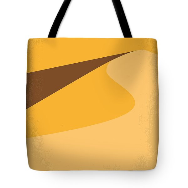 No251 My Dune Minimal Movie Poster Tote Bag