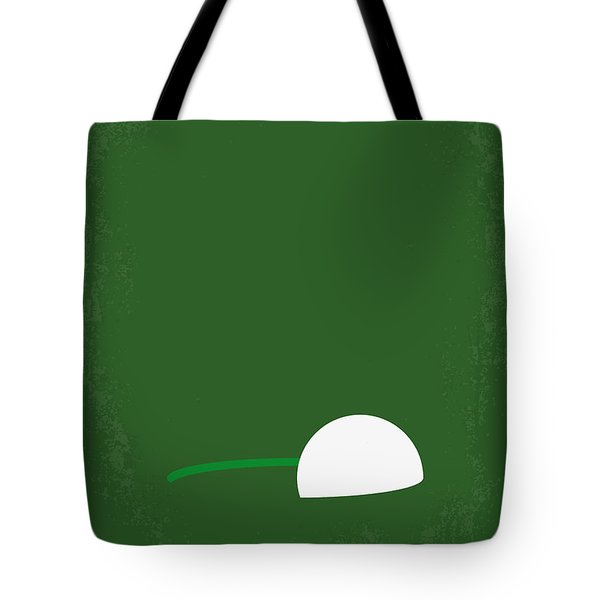 No256 My Happy Gilmore Minimal Movie Poster Tote Bag by Chungkong Art