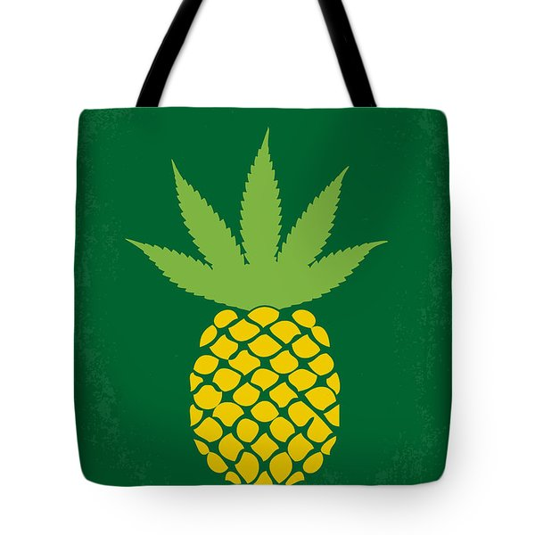 No264 My Pineapple Express Minimal Movie Poster Tote Bag