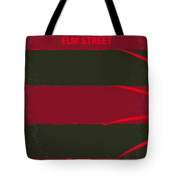 No265 My Nightmare On Elmstreet Minimal Movie Poster Tote Bag by Chungkong Art