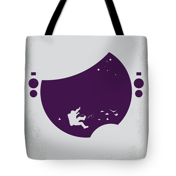 No269 My Gravity Minimal Movie Poster Tote Bag by Chungkong Art