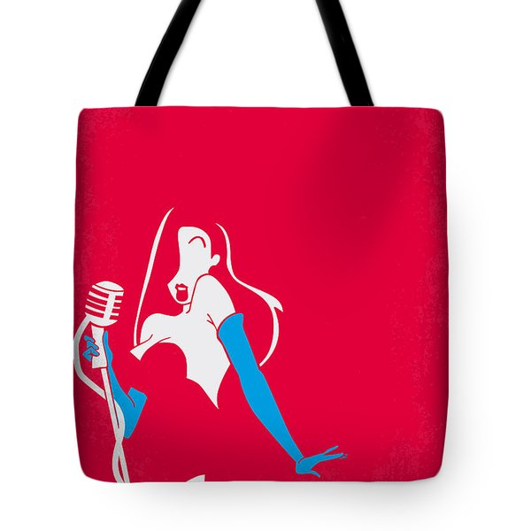 No271 My Roger Rabbit Minimal Movie Poster Tote Bag