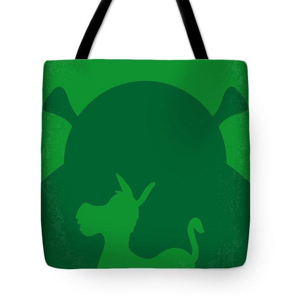 No280 My Shrek Minimal Movie Poster Tote Bag