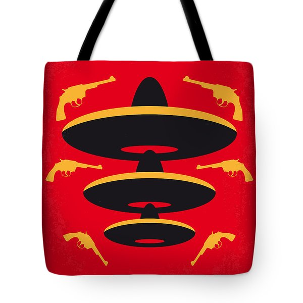 No285 My Three Amigos Minimal Movie Poster Tote Bag