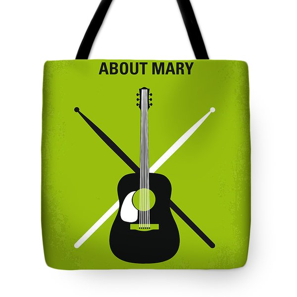 No286 My There's Something About Mary Minimal Movie Poster Tote Bag