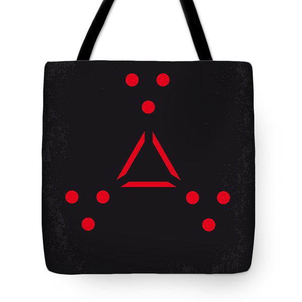 No289 My Predators Minimal Movie Poster Tote Bag