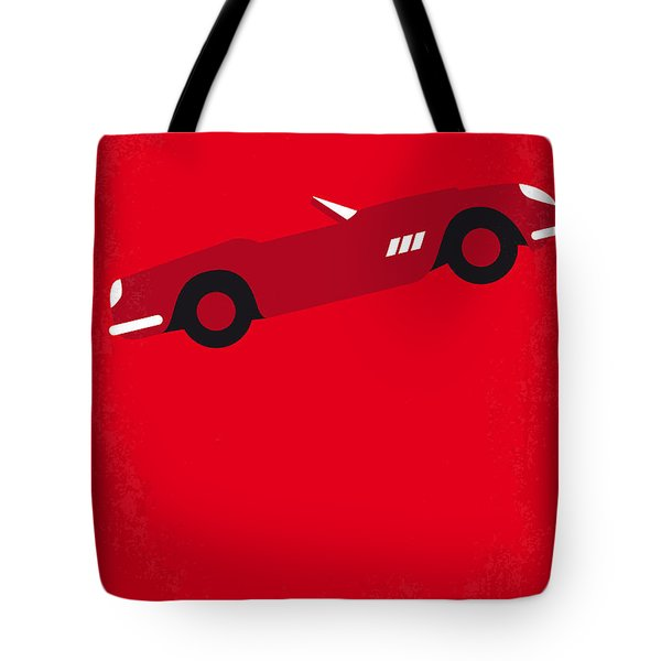 No292 My Ferris Bueller's Day Off Minimal Movie Poster Tote Bag