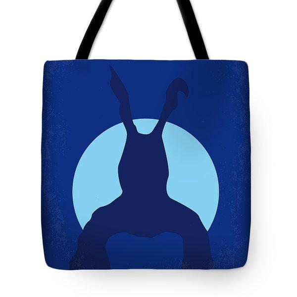 No295 My Donnie Darko Minimal Movie Poster Tote Bag