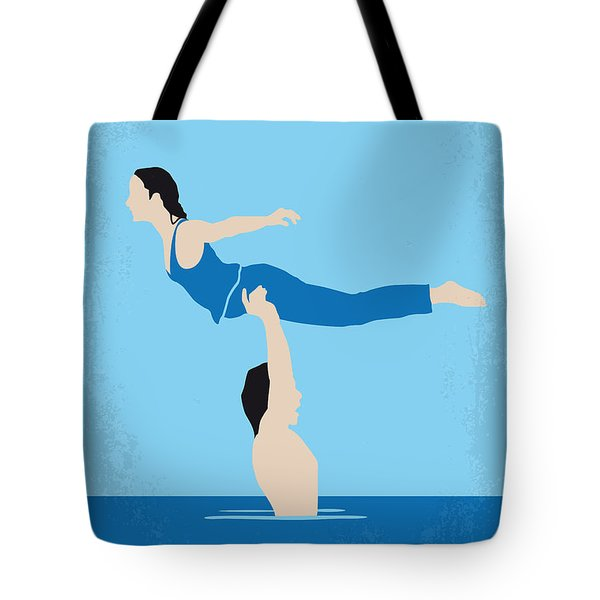 No298 My Dirty Dancing Minimal Movie Poster Tote Bag
