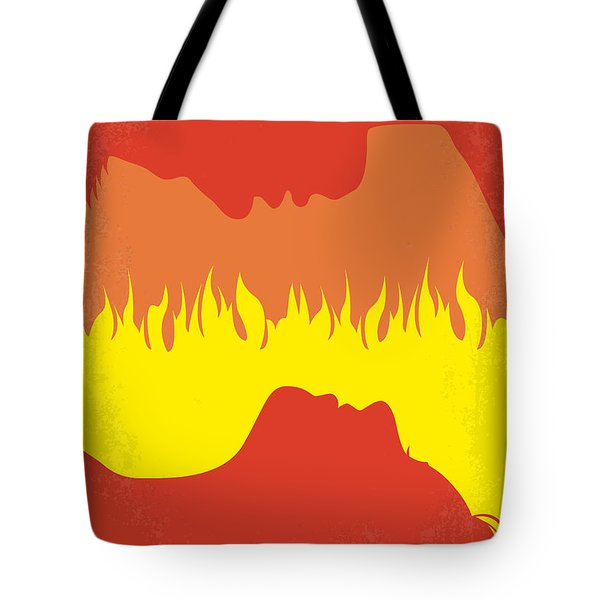 No299 My Gone With The Wind Minimal Movie Poster Tote Bag