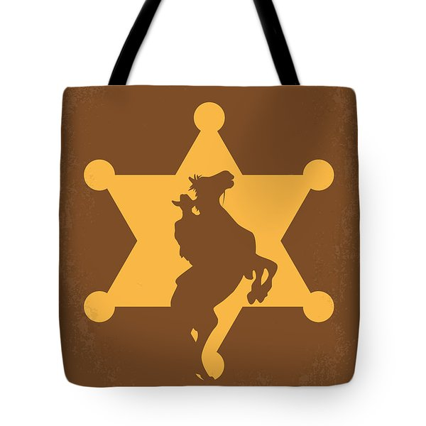 No322 My Rio Bravo Minimal Movie Poster Tote Bag