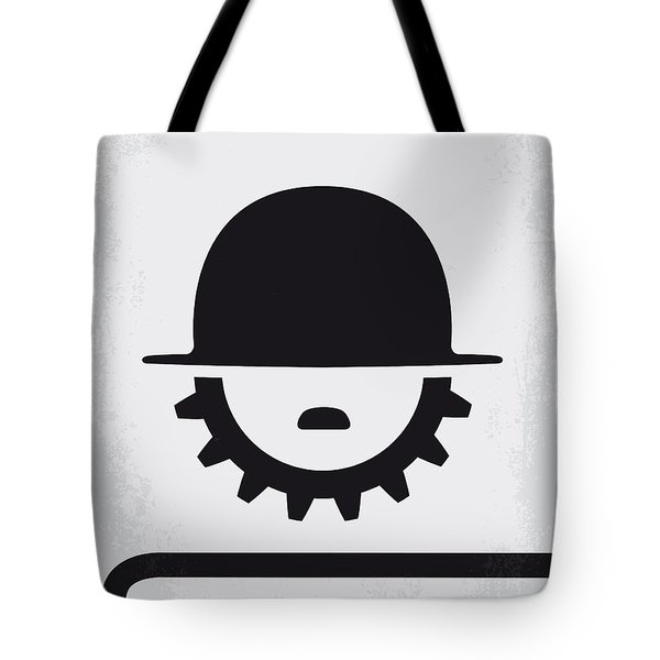 No325 My Modern Times Minimal Movie Poster Tote Bag