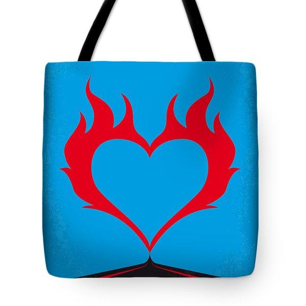 No337 My Wild At Heart Minimal Movie Poster Tote Bag