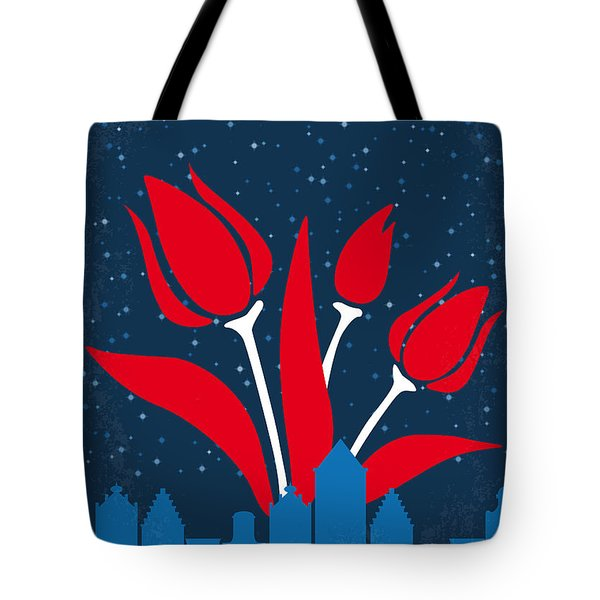 No340 My The Fault In Our Stars Minimal Movie Poster Tote Bag