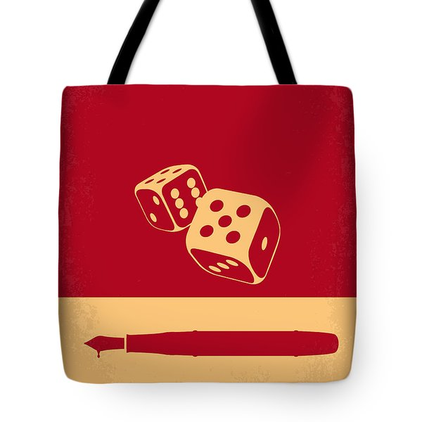No348 My Casino Minimal Movie Poster Tote Bag