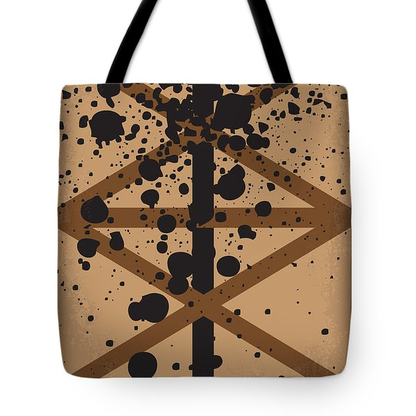 No358 My There Will Be Blood Minimal Movie Poster Tote Bag