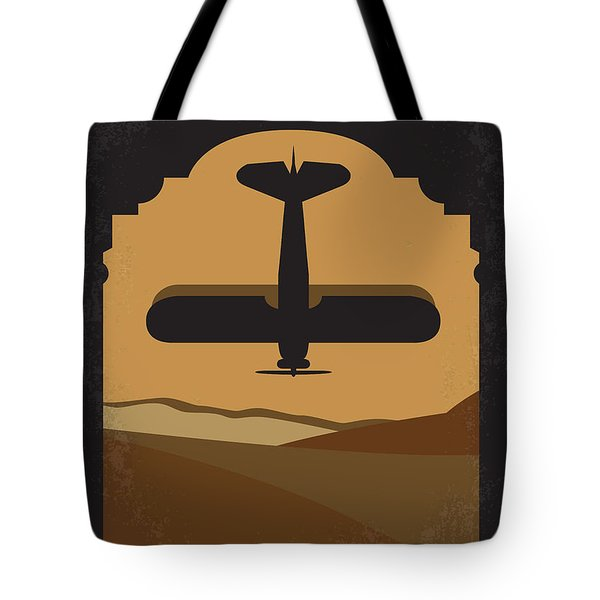 No361 My The English Patient Minimal Movie Poster Tote Bag