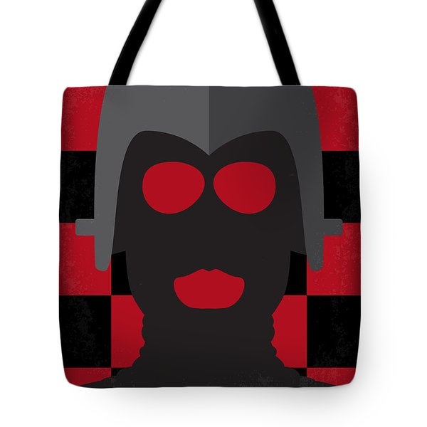 No367 My Death Race 2000 Minimal Movie Poster Tote Bag