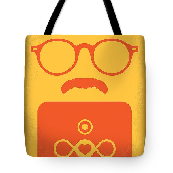 No372 My Her Minimal Movie Poster Tote Bag by Chungkong Art