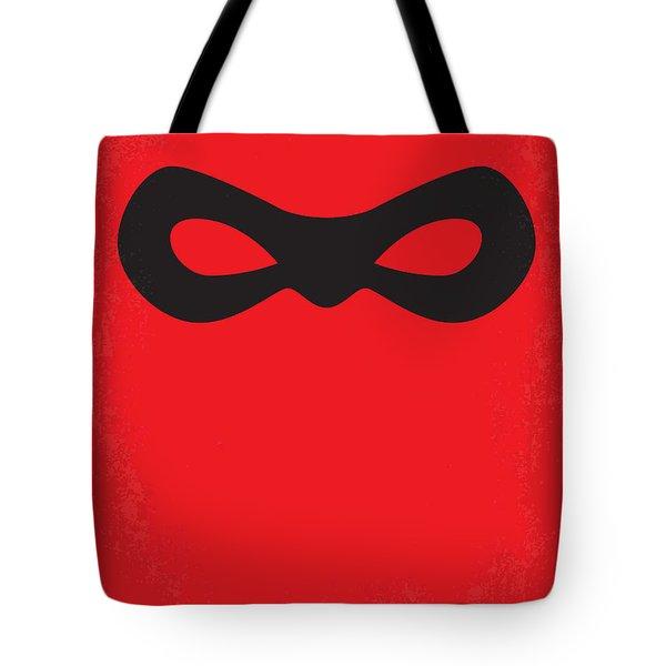 No368 My Incredibles Minimal Movie Poster Tote Bag