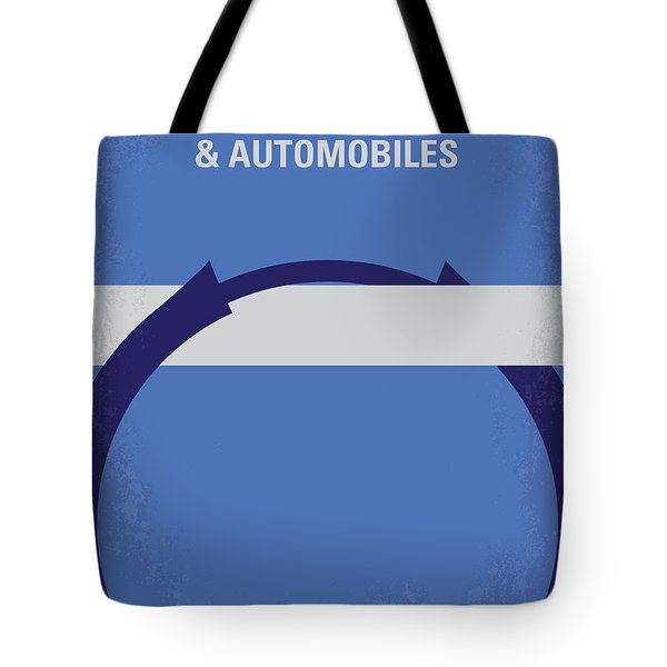 No376 My Planes Trains And Automobiles Minimal Movie Poster Tote Bag