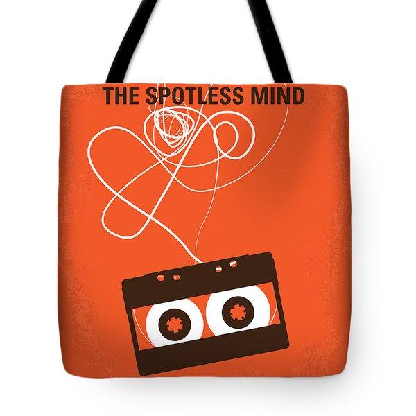 No384 My Eternal Sunshine Of The Spotless Mind Minimal Movie Pos Tote Bag