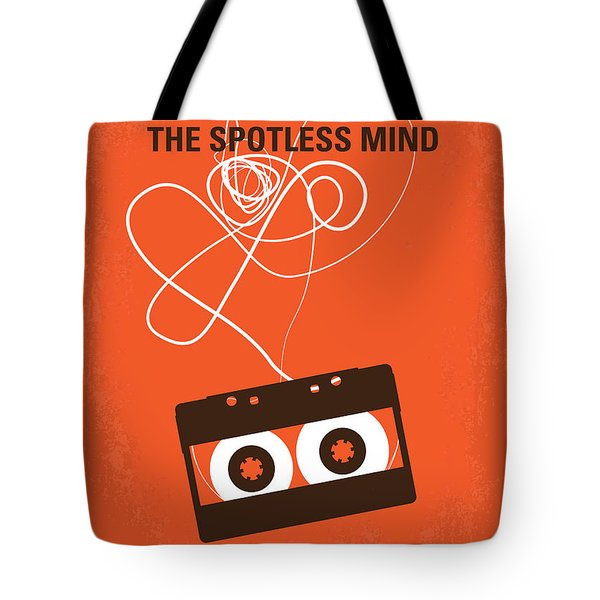 No384 My Eternal Sunshine Of The Spotless Mind Minimal Movie Pos Tote Bag