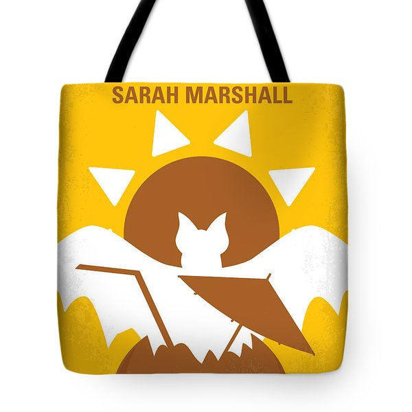 No393 My Forgetting Sarah Marshall Minimal Movie Poster Tote Bag